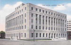 JACKSON , Mississippi, 30-40s ; Post Office