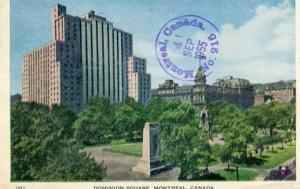 Canada - Quebec, Montreal, Dominion Square