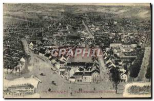 Postcard Old Coulsdon Vue Generale A Flight D & # 39Oiseau