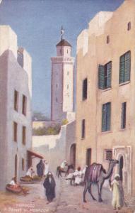 TUCK #7428; MOROCCO; A Street in Mogador, 00-10s