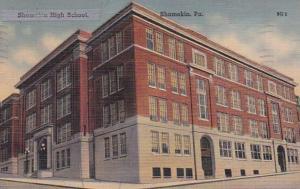 Pennsylvania Shamokin High School 1941