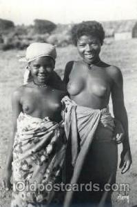 Un Coine De Madagascar African Nude, Nudes, Postcard Post Card  Un Coine De M...