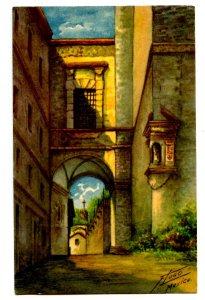 Mexico - Taxco. Former Convent    Artist: F. Lugo