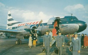 Fly NORTHEAST ,  Airplane, 1950s