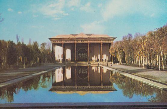 Irantour Hotel Chehel Sotoon Siose Pol Isfaban Iran Postcard