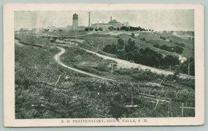 Sioux Falls South Dakota~State Penitentiary~Prison Guard Tower~Curvy Roads~1910