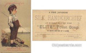Boraxine J.D. Larkin & Co. Buffalo NY, USA Trade Card Approx Size Inches = 3....