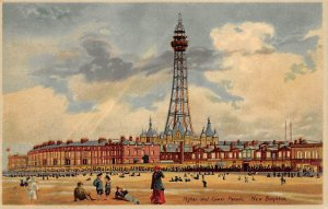 Lower Parade New Brighton Hold to Light Unused