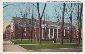 ALBION, Michigan, PU-1947; Girls´ Dormitory, Albion College