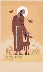 St Farncisco De Asis Santa Barbara California Hand Made Original Serigraph