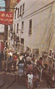 MONTREAL, Quebec, 1950-1960s ; La Rue Du Tresor