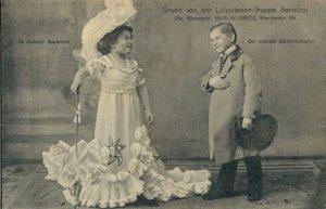 Gruss von der Liliputaner Truppe Berolina Kids and Funny 03.70