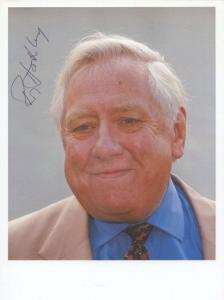 Roy Hattersley Labour MP Hand Signed Photo