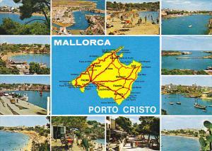 Spain Mallorca Porto Cristo Multi View