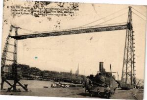 CPA ROUEN-Le Pont transbordeur construit en 1898 (235089)
