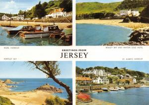 Postcard Greetings from Jersey, Channel Islands, Multiview C39