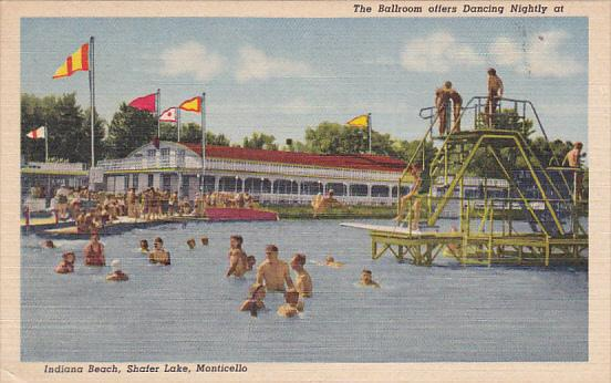 The Ballroom Offers Dancing Nightly At Indiana Beach Shafer Lake Monticello