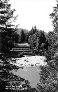 RPPC Russian River GUERNEWOOD, CA Sonoma Co. Laws Photo c1940s Vintage Postcard