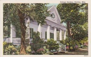 Mississippi Natchez Cottage Gardens Curteich