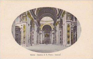 Italy Roma Rome Basilica di D Pietri Interno