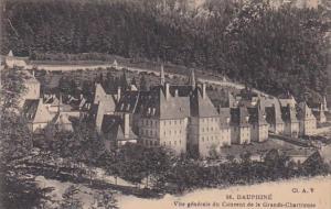 France Dauphine Vue generale du Couvent de la Garnde Chartreuse