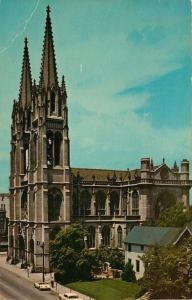 Denver, CO, Immaculate Conception Catholic Church, 1961 Vintage Postcard c5296