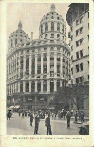 Argentina Buenos Aires Calle Florida y Diagonal Norte 06.92