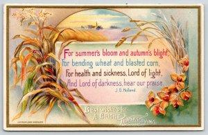 Thanksgiving~Autumn Wheat~Farm Field Portal~Health & Sickness Praise~John Winsch