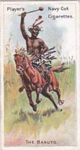 Player Vintage Cigarette Card Riders Of The World 1905 No 15 The Basuto