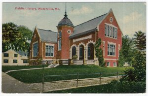Waterville, Me, Public Library