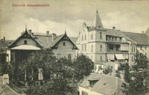 hungary, BALATONFÜRED, Partial View (1910s) Postcard