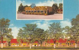 ritz court caf walnut ridge  arkansas L4373 antique postcard