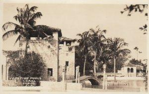 RP: CORAL GABLES , Florida , 1920s ; Venetian Pools ; #1