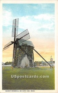 Oldest Windmill on Cape Cod - MA