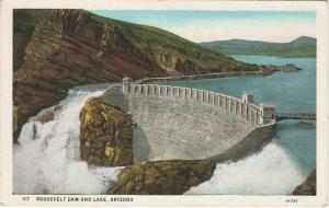 Theodore Roosevelt Dam and Lake AZ, Arizona - WB