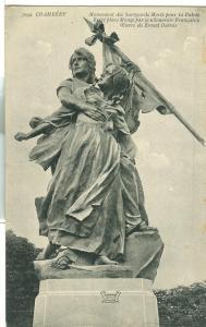 Chambery, Monument des Savoyards Morts pour la Patrie