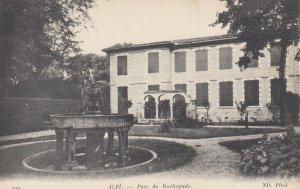 ALBI, Tarn, France; 1900-1910's; Parc de Rochegude