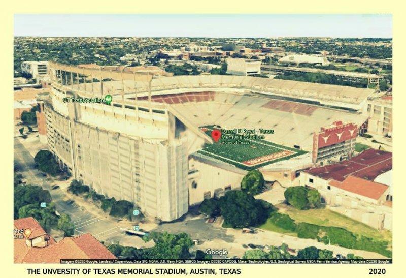 Austin~University of Texas~Home of the Longhorns Memorial Football Stadium~1932