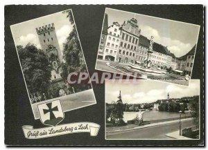 Modern Postcard Gruss aus Landsberg Lech