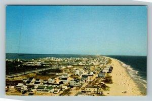 Fenwick Island DE- Delaware, Island, Aerial View, Chrome Postcard