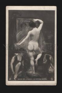 077690 NUDE Women BALLET Dancers by ROUSSIN old SALON 1906