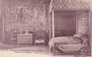 Chateau de CHAUMONT-SUR-LOIRE , France , 00-10s ; Chambre de Ruggieri