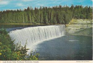 Lady Evelyn Falls , N.W.T. , Canada , 50-60s