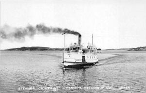 Steamer Catherine Eastern Steamship Company Real Photo Postcard