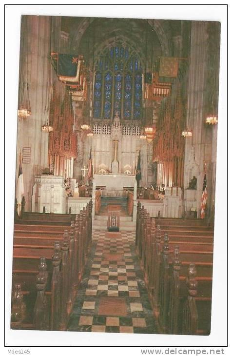 PA Valley Forge National Park Memorial Chapel & Interior Altar 2 Postcards