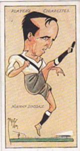 Player Vintage Cigarette Card Football Caricatures By Mac 1927 No 11 Norman D...