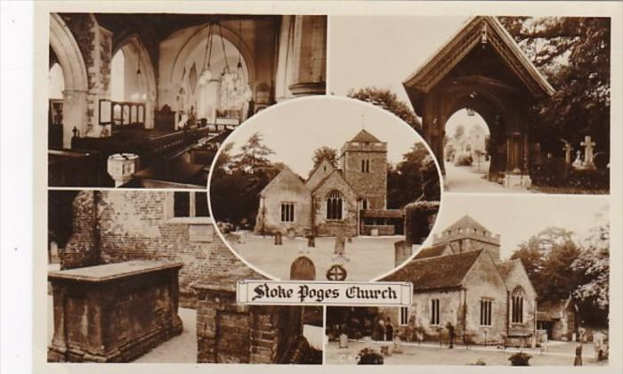 England Stoke Poges Church Multi View Photo