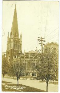 RPPC, First Baptist Church, Seattle Wash