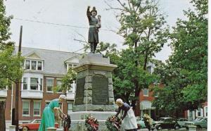YORK, Pennsylvania, 1940-60s; Volunteer Firemen's Memorial, Penn Common Park