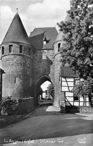 Luftkurort Nideggen Eifel Duerener Tor Gate